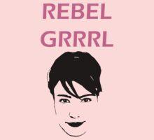 Kathleen Hanna- Rebel Grrrrl Kids Clothes