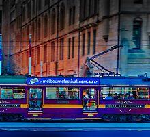 melbourne tram by keefer1000