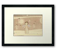 choir of angels Framed Print