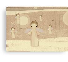 choir of angels Canvas Print