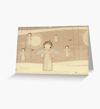 choir of angels Greeting Card
