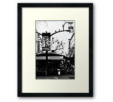 Rundle Mall Framed Print