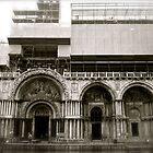 basilica san marco on a rainy sunday morning by kchamula