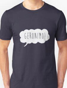 Geronimo! (White) Unisex T-Shirt