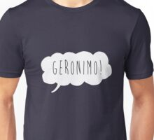 Geronimo! (White) Unisex T-Shirt