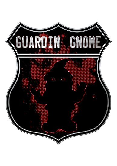 Guardin gnome by puppaluppa