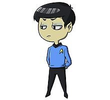 Mister Spock is not pleased by Elias Mercado