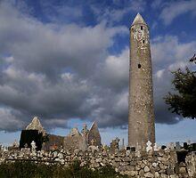 Kilmacduagh Abbey by Simone Kelly