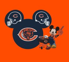 Chicago Bears Mickey Mouse fan by sweetsisters