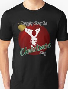 Swiggity-Swag the Christmas Stag Unisex T-Shirt