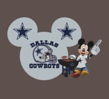 Dallas Cowboys Mickey Mouse fan by sweetsisters