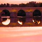 Cordoba Roman Bridge Sunset 2 by Sue Ballyn