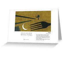"""Beijing"" in words & image (Toni Demuro) Greeting Card"