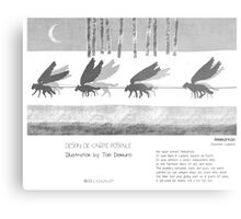 """Ammarnäs"" in words & image (Toni Demuro) Metal Print"