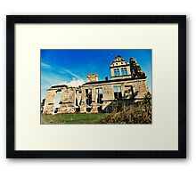 Older and Smarter Framed Print