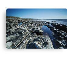 Fanore coastline Canvas Print