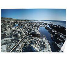 Fanore coastline Poster