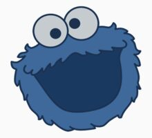 Cookie Monster T-shirt Sesame Street by retromoomin