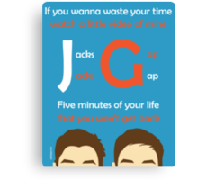 JacksGap Theme Song Canvas Print