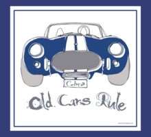 'Old Cars Rule'AC Cobra 427 T-Shirt