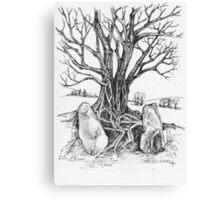 Castleruddery Stone Circle Canvas Print