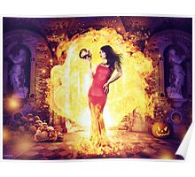 The Fire Witch  Poster