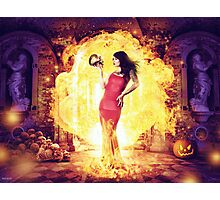 The Fire Witch  Photographic Print