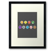 The perfect tripulation Framed Print