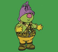 Fraggle Rock T-shirt Doozer At Work by retromoomin