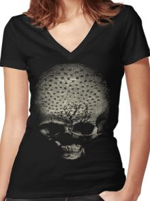 my alchemical death Women's Fitted V-Neck T-Shirt