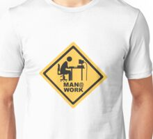 Men At Work Computer Desk Unisex T-Shirt