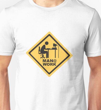Men At Work Computer Desk Unisex T-Shirt