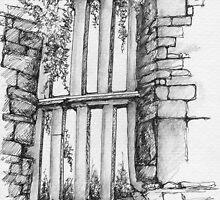 Kilnaboy Window by CapallGlas