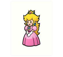 Princess Peach Nintendo T-shirt Art Print