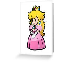 Princess Peach Nintendo T-shirt Greeting Card