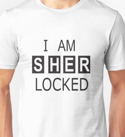 Sherlock Holmes SHERlocked Phone Locking Unisex T-Shirt
