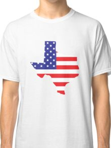 Texas State Map Classic T-Shirt