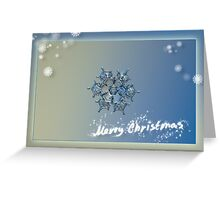Snowflake Christmas card #4 Greeting Card