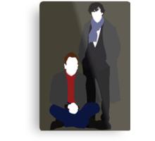 Sherlock & Sherlock Metal Print