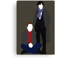 Sherlock & Sherlock Canvas Print