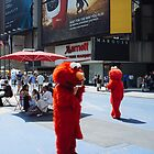 Elmo's Phone by MatMartin