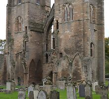 Elgin Cathedral by mike  jordan.