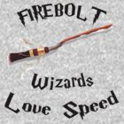 Harry Potter - Firebolt by appfoto