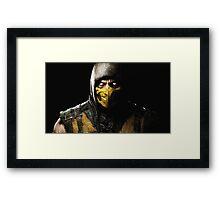 MK Framed Print