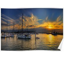 Yarmouth Sundown Poster