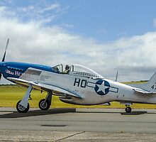 """P-51D Mustang 44-72216/HO-M G-BIXL """"Miss Helen"""" by Colin Smedley"""