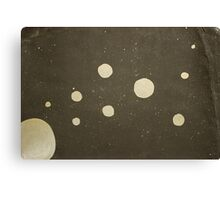 Silver Galaxy Canvas Print