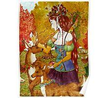 Autumn Queen Poster