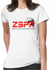 Corporate Parody - ESPN Womens Fitted T-Shirt