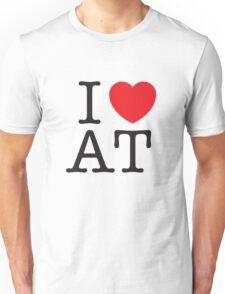 I HEART AMERICAN TYPEWRITER Unisex T-Shirt
